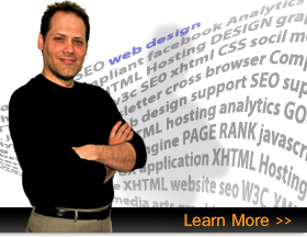 Albuquerque XHTML website and professional small business webpage design.